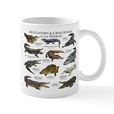 Alligator & Crocodiles of the World Small Mug