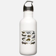 Alligator & Crocodiles of the World Water Bottle
