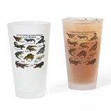 Alligator Pint Glasses