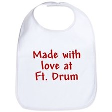Made with love - Drum Bib