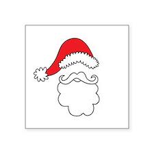 Santa Hat & Beard Sticker