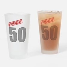 officially_50 Drinking Glass