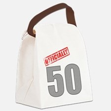 officially_50 Canvas Lunch Bag