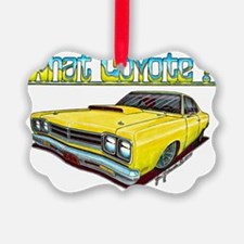 1969_plymouth_roadrunner Ornament