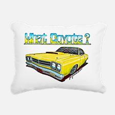 1969_plymouth_roadrunner Rectangular Canvas Pillow