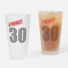 officially_30 Drinking Glass