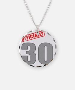 officially_30 Necklace