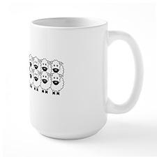 bouvierSheep_stickerBumper Coffee Mug