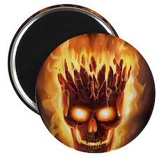 skull bonies head explodes wide Magnet