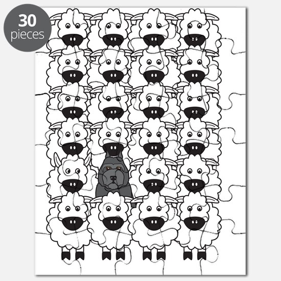 bouvierSheep_cards2 Puzzle