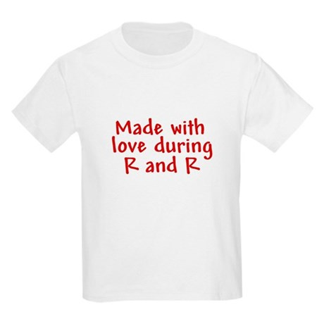 Made with love - R&R Kids T-Shirt
