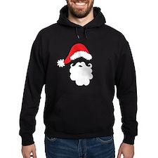 Santa Hat & Beard Hoodie