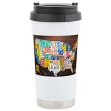 United States License Plate Map Travel Mug