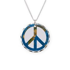 Peace on Earth Symbol Necklace