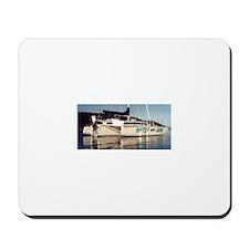 Funny Catamaran Mousepad