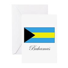 Bahamas - Flag Greeting Cards (Pk of 10)