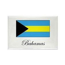 Bahamas - Flag Rectangle Magnet