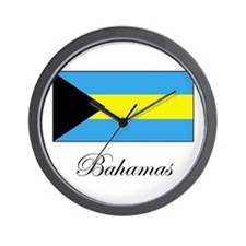 Bahamas - Flag Wall Clock