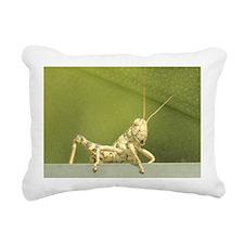 grasshopper 1 Rectangular Canvas Pillow