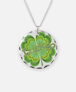 luckyvintage Necklace Circle Charm