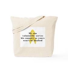 My Son voluntarily Tote Bag