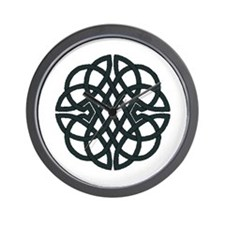 Knotwork Design Wall Clock