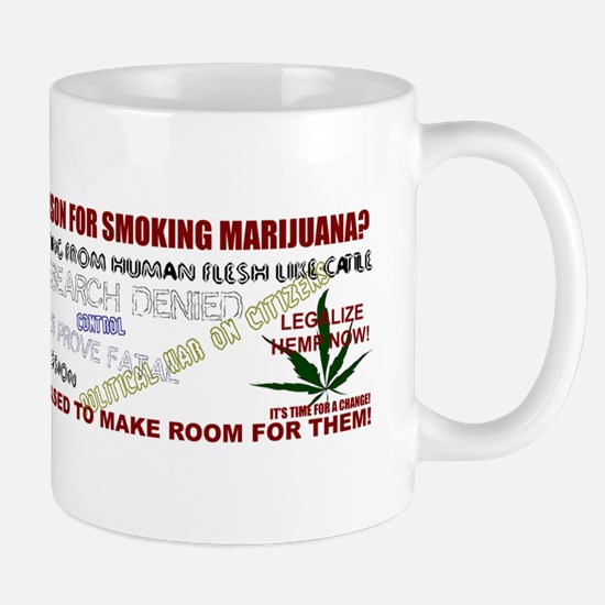 Dont Care Who Is Going To Prison Mug