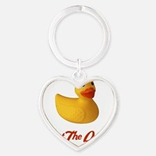 Shop18 Heart Keychain