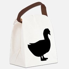 duck_1c Canvas Lunch Bag