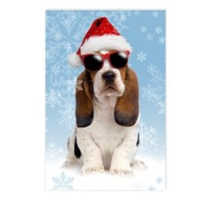 Cool Yule Christmas Card  Postcards (Package of 8)
