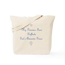 My Precious Face Blue copy Tote Bag