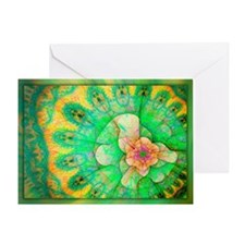 Abstract 771 Greeting Card