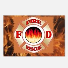 fd logo union Postcards (Package of 8)