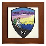 Mesquite Constable Framed Tile