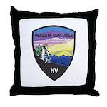 Mesquite Constable Throw Pillow