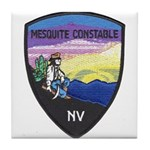 Mesquite Constable Tile Coaster