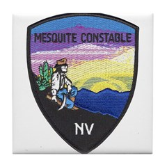 Mesquite Constable Tile Coaster