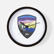 Mesquite Constable Wall Clock