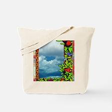 FloralVictorianArt-z-bhr-c-x 9 x 12 edit Tote Bag