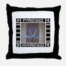 Pyrenees Awareness -- Throw Pillow