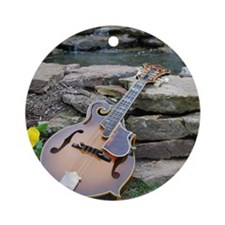 MousePad_Ibanez_Waterfall Round Ornament