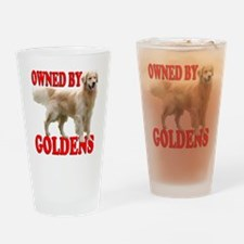 2-OwnGoldNewMerge Drinking Glass