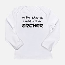 When I Grow Up Archery Long Sleeve T-Shirt