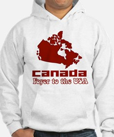 Canada: Foyer to the USA Hoodie