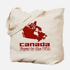 Canada: Foyer to the USA Tote Bag