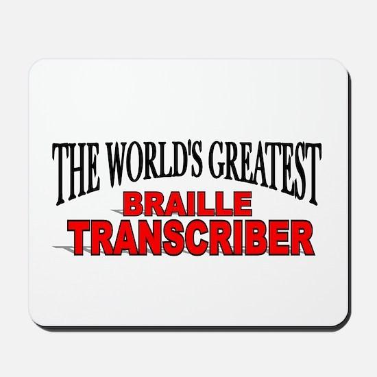 """The World's Greatest Braille Transcriber"" Mousepa"