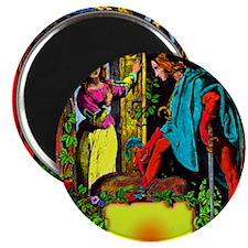 October Date Victorian Art-zkk-bhr-c-xa 9 x Magnet