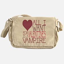 VALENTINE VAMPIRE Messenger Bag