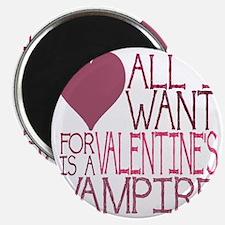 VALENTINE VAMPIRE Magnet