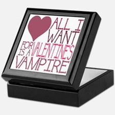 VALENTINE VAMPIRE Keepsake Box